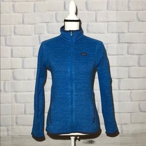 Patagonia Better Sweater Fleece Jacket blue Small